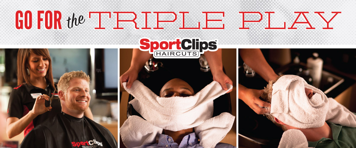 The Sport Clips Haircuts of Colorado Springs - Austin Bluffs Plaza Triple Play