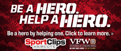 Sport Clips Haircuts of Colorado Springs - Austin Bluffs Plaza​ Help a Hero Campaign